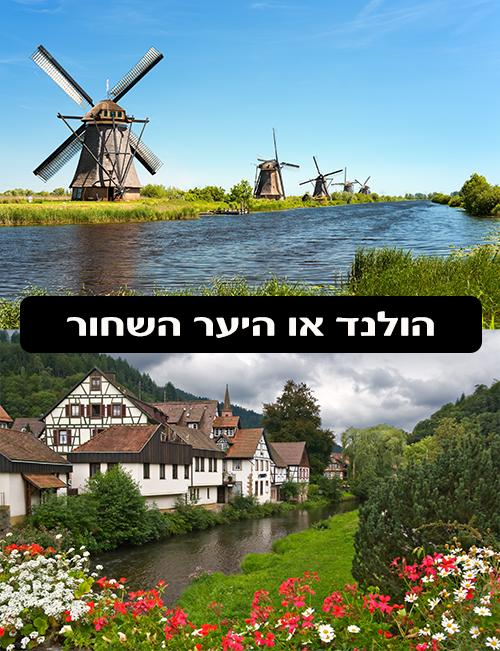 הולנד לעומת היער השחור - טיול משפחות