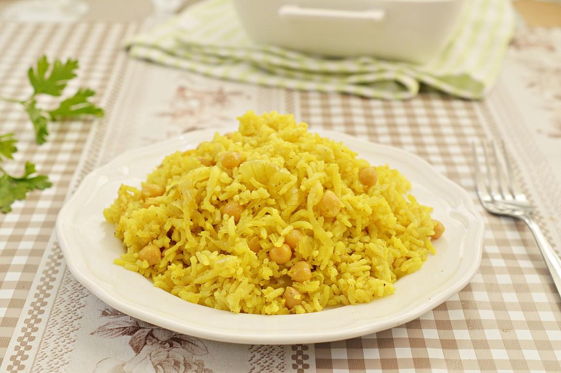 מתכון אורז וחומוס