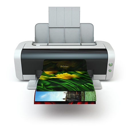 בחירת מדפסת