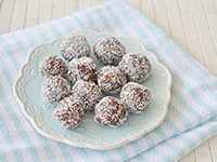 מתכון כדורי תמרים בטעם שוקולד