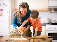 לבשל עם הילדים