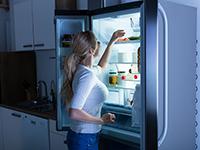 אחסון מזון במקרר