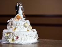 עוגה מעוצבת לחתונה