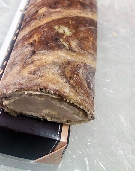 מתכון עוגת רולדה בטעם מוקה