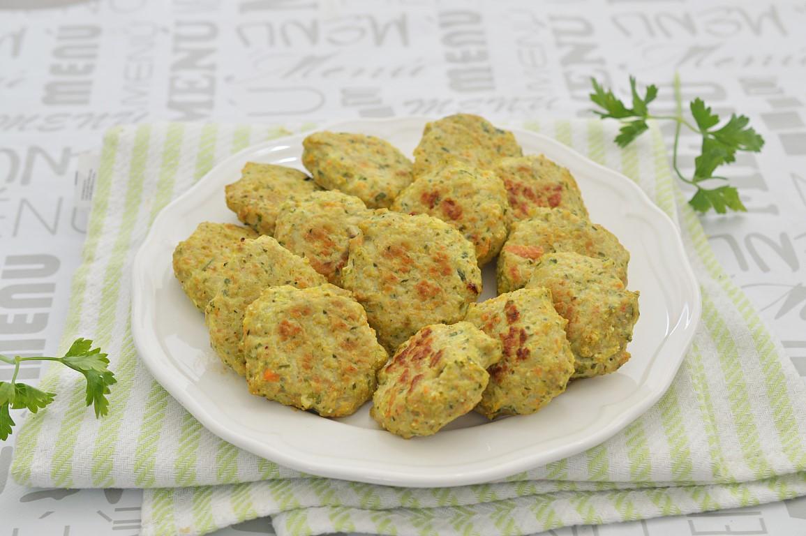 מתכון לקציצות עוף וקישואים בתנור