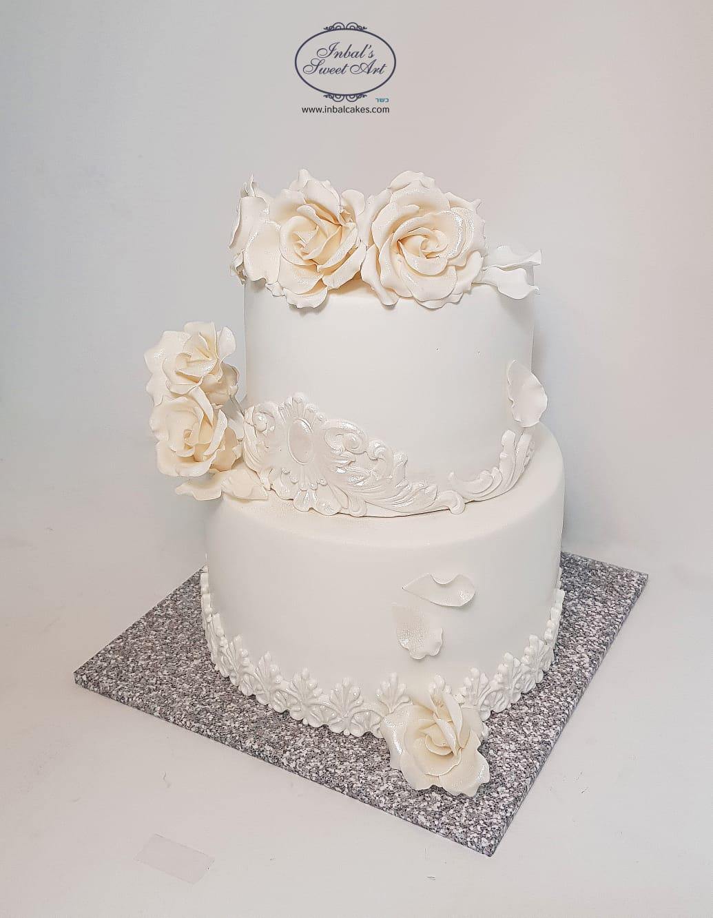 עוגות חתונה מעוצבות גם בזמן הקורונה
