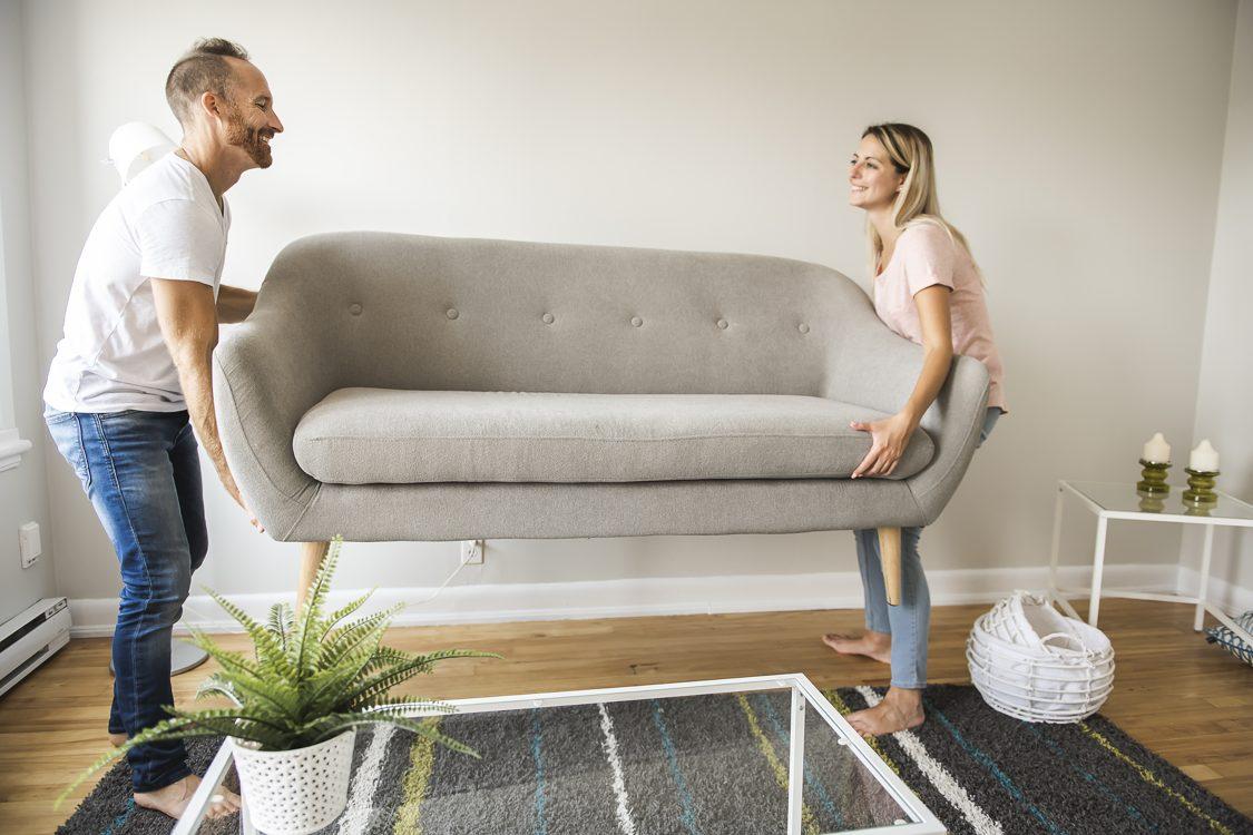 מעבר דירה - ריהוט חדש