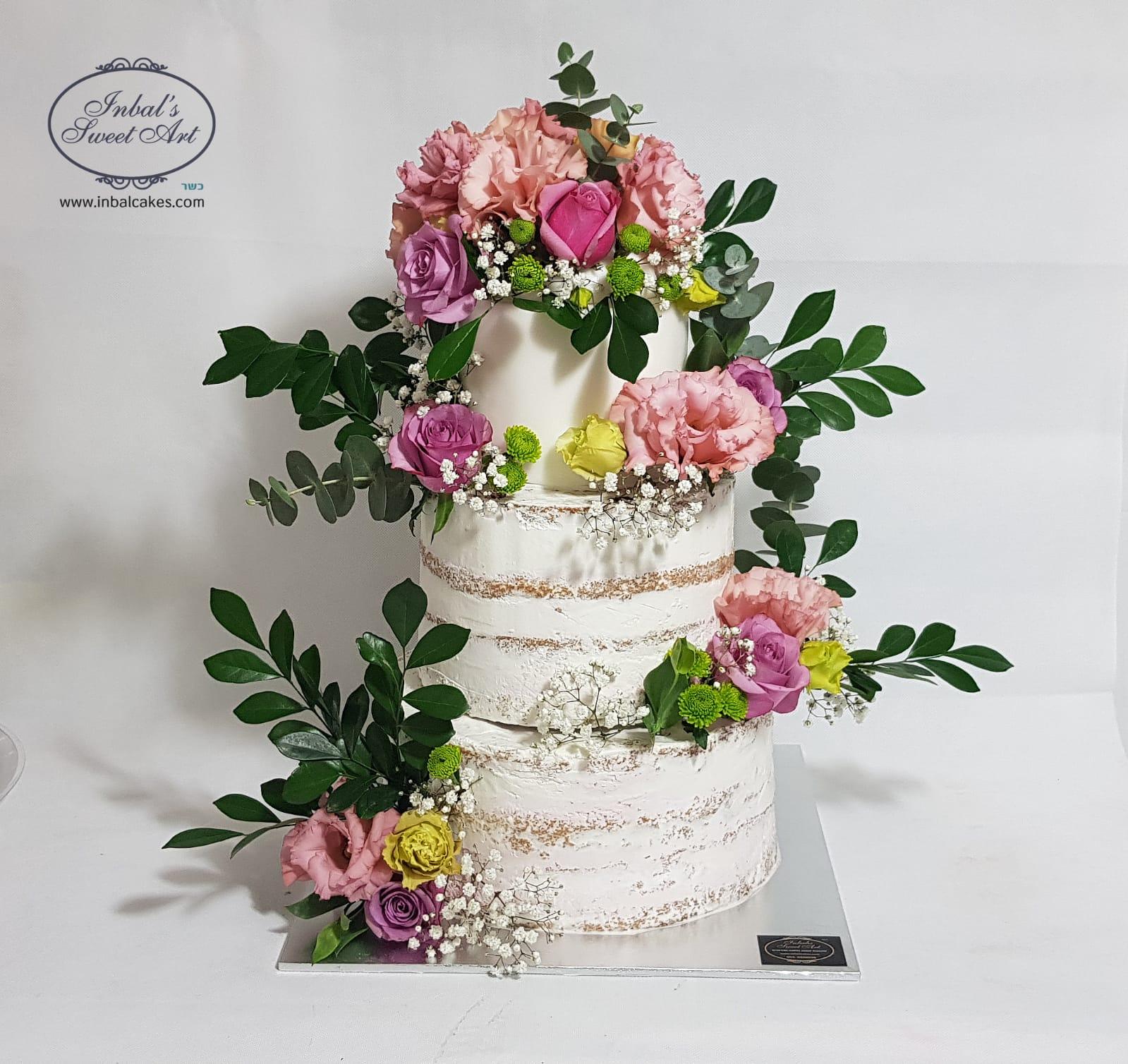 עוגת חתונה אחת - אלפי עיצובים לבחור מהם