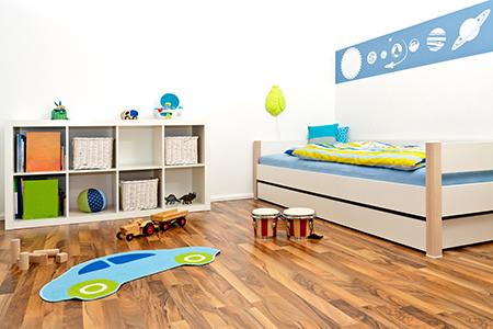 בוחרים פרקט לחדר ילדים